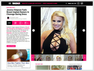 Sheila Nazarian, MD MMM- Beverly Hills Plastic Surgeon- Radar Online Article