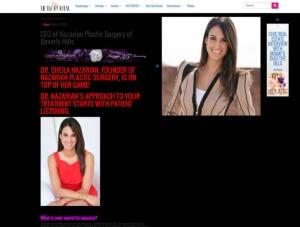 Sheila Nazarian, MD MMM - Chicmetropolitan News