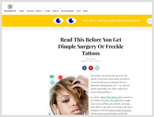 Nazarian Plastic Surgery - PicoSure Laser Tattoo Removal Article Beverly Hills, Los Angeles