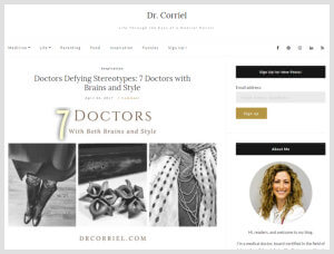 Sheila Nazarian, MD MMM- Beverly Hills Plastic Surgeon- Doctors Defying Stereotypes: 7 Doctors with Brains and Style