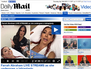 Nazarian Plastic Surgery - Daily Mail Live stream Labiaplasty