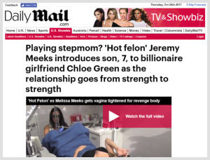 Nazarian Plastic Surgery - Daily Mail Meeks Article