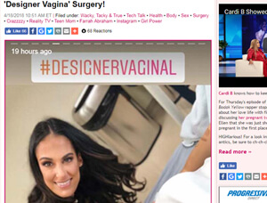 Nazarian Plastic Surgery - Designer Labiaplasty