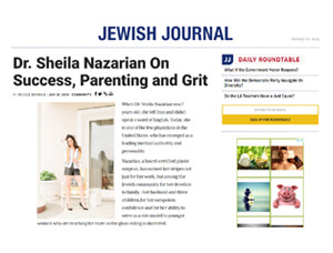 Dr. Sheila Nazarian On Success, Parenting and Grit