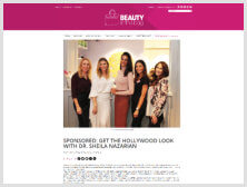 GET THE HOLLYWOOD LOOK WITH DR. SHEILA NAZARIAN