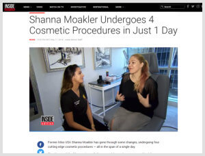 Dr. Nazarian featured Laser Tattoo Removal Articles