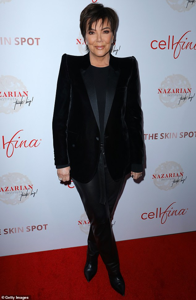 Kris Jenner rocks a boss look in black as Farrah Abraham goes classic in tweed at ThinkBIG!