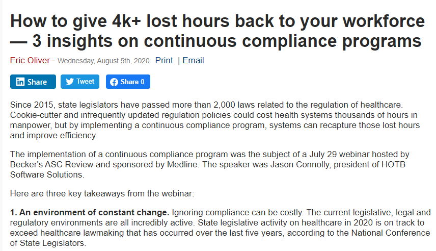 How to give 4k+ lost hours back to your workforce — 3 insights on continuous compliance programs