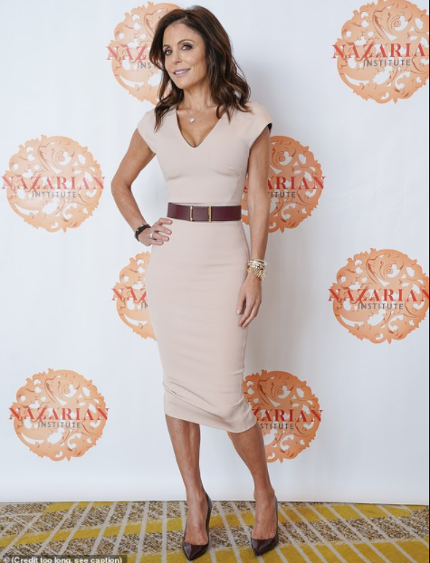 Bethenny Frankel gives keynote speech at luxury conference as Housewives party with Andy Cohen