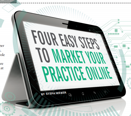 Four Easy Steps to Market Your Practice Online.