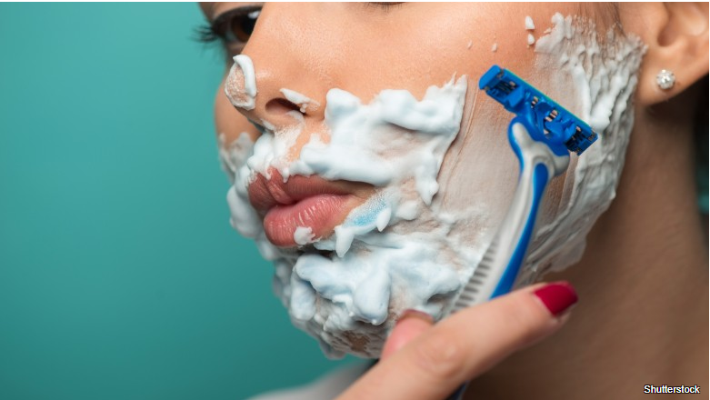 What really happens when you shave your face Read More: https://www.thelist.com/56671/really-happens-shave-face/?utm_campaign=clip