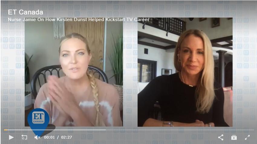 Nurse Jamie On How Kirsten Dunst Helped Kickstart TV Career