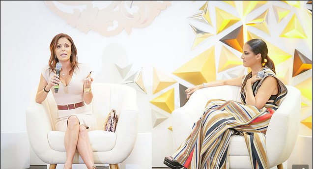 Bethenny Frankel Gives Keynote Speech at Luxury Conference as Housewives Part with Andy Cohen