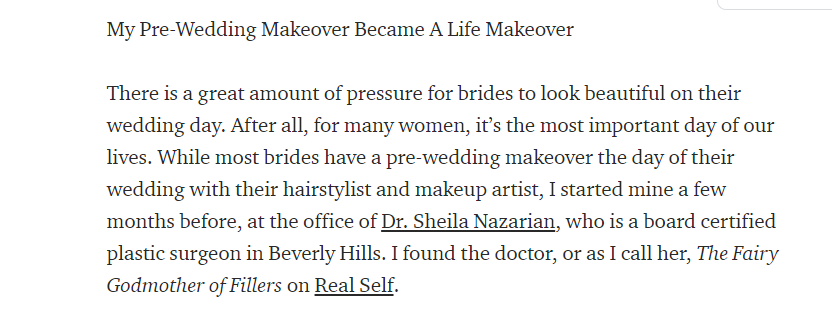 My Pre-Wedding Makeover Became A Life Makeover