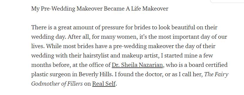 My Pre-Wedding Makeover Became A Life Makeover
